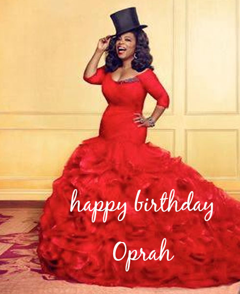 happy birthday oprah