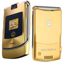 gold flip phone