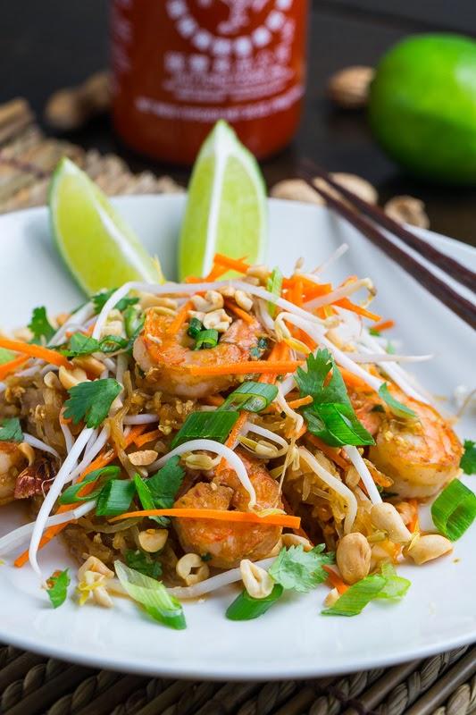 Spaghetti Squash Shrimp Pad Thai 800 0185