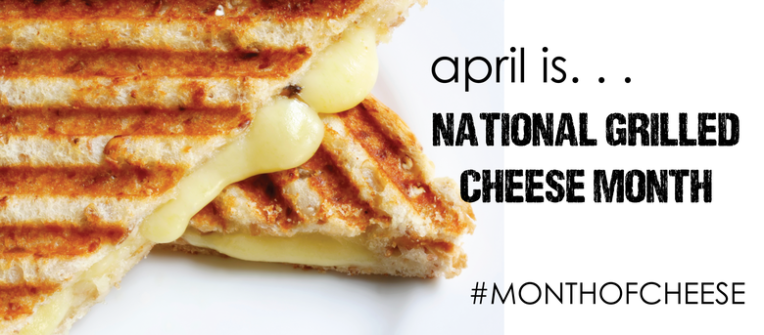 National Grilled Cheese Month- Foxcroft DOC