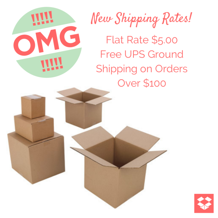 New Shipping Rates!