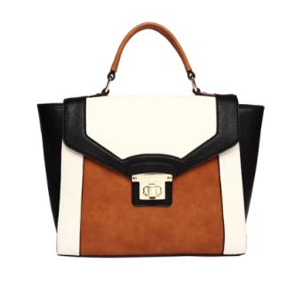 Mellie Bianco Annie Structured Handbag