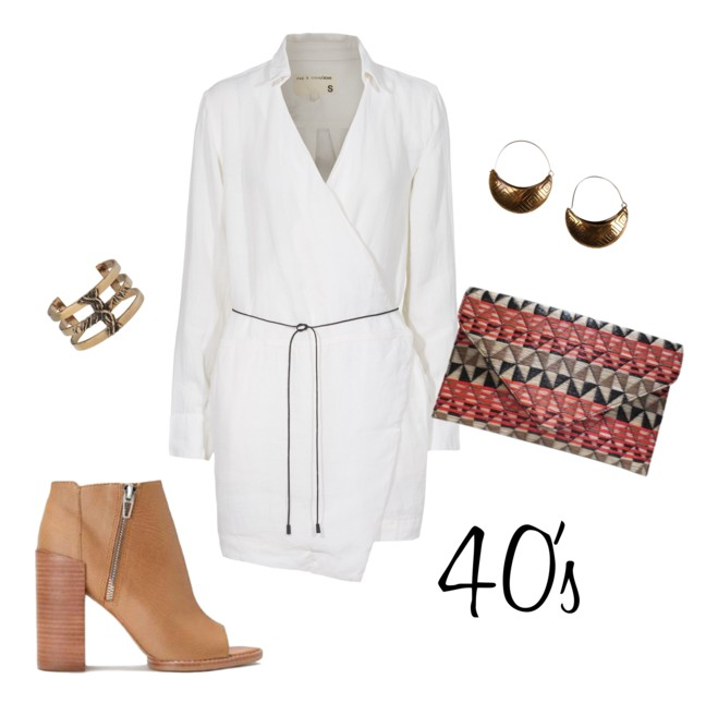40's outfit