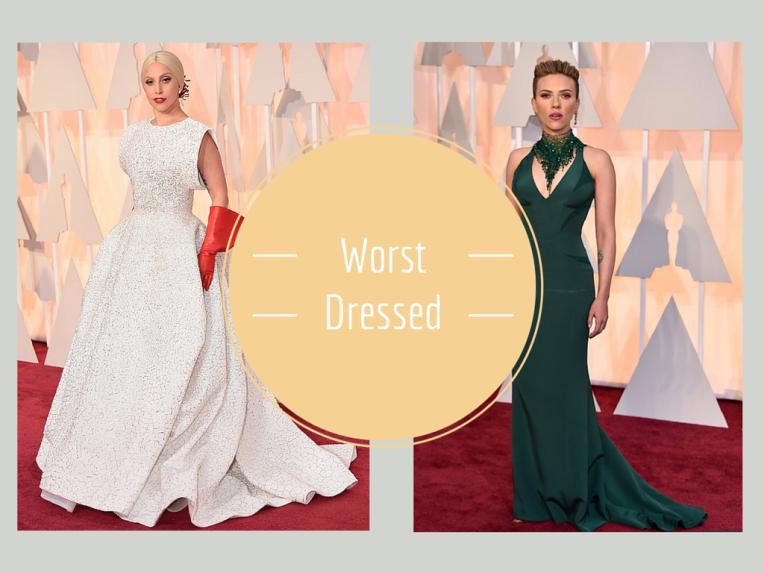 Worst dresses oscars 2015
